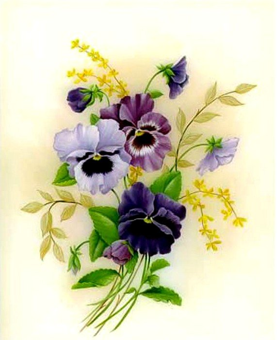 Картинки для декупажа цветы распечатать 7