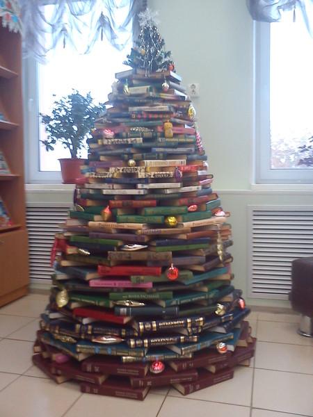 Как из книги сделать елку - Dorel.ru