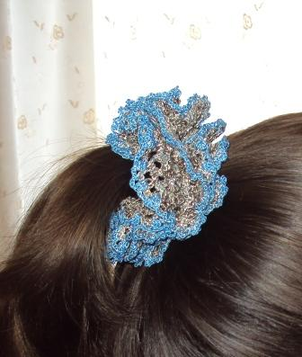 вязаная-резинка-для-волос (336x397, 42Kb)