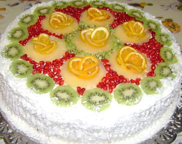 Торт «Ананасовый рай» (600x475, 43Kb)