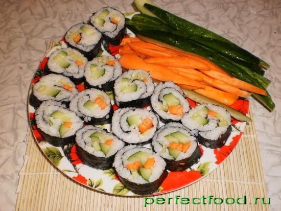 Приготовление суши в домашних условиях видео-рецепты
