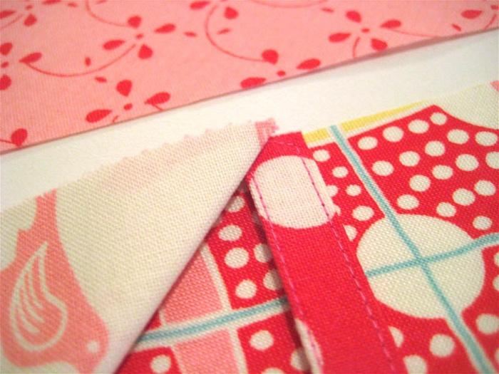 用花卉布头缝制收纳袋   (大师班) - maomao - 我随心动