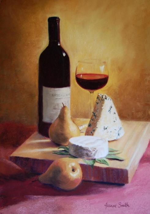 38 Queso Vino y Boscs Jeanne Rosier Smith (490x700, 240KB)