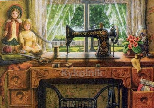 35 Doug Knutson «Sewing Room» (512x360, 81Kb)