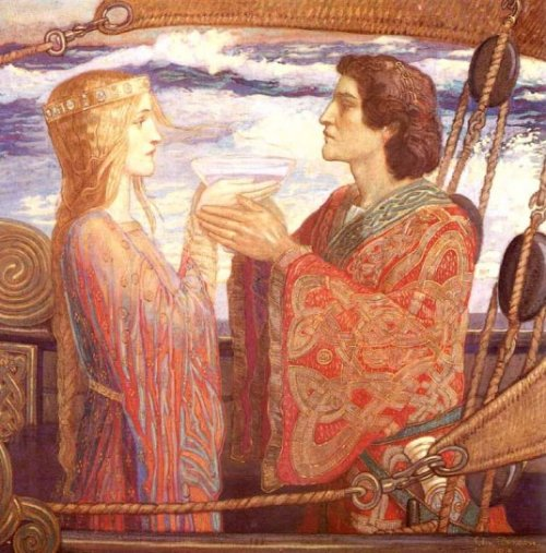 John Duncan. Тристан и Изольда (500x507, 69Kb)