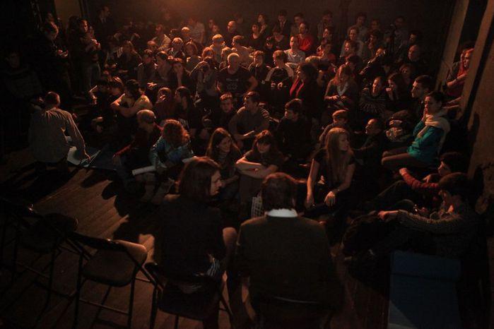 Очень талантливые ребята и они сами, почувствовав кураж, завели вчера зал практически до.
