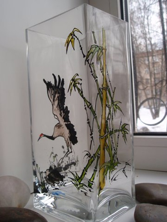 Идеи для росписи ваз 7.