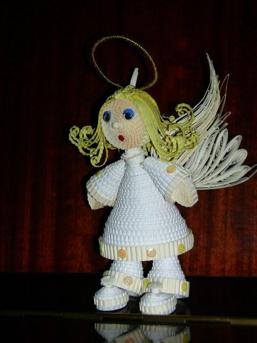 Ангел сделать из ткани