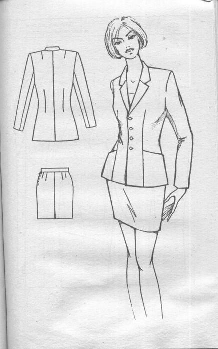 Сшить для себя деловой костюм 709