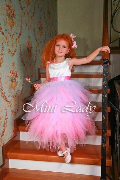Как сшить пышное платье из фатина для девочки своими руками