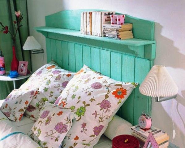 Как украсить изголовье деревянной кровати своими руками