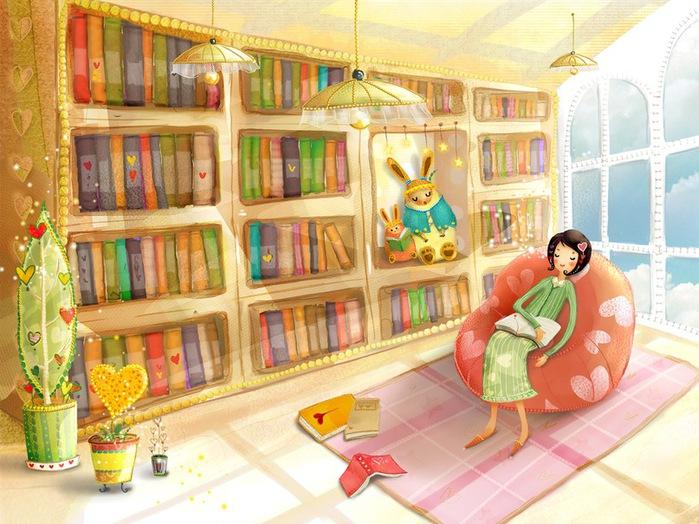 Детские Картинки С Книжками
