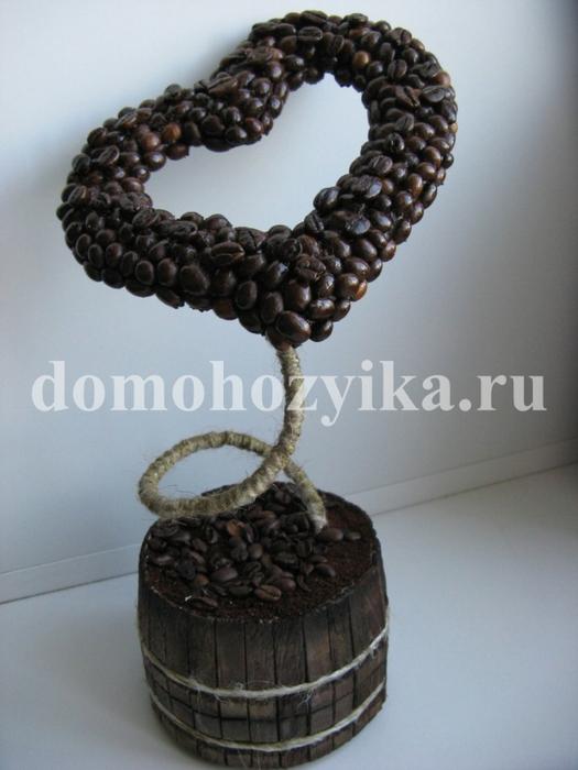 IMG_4828.  Дерево сердце из бисера.