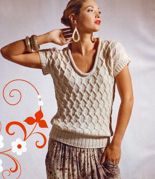 Вязание на спицах женские