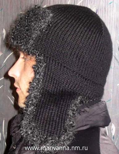 Шапка-ушанка для мужчин спицами с подробным описанием по фото/4683827_20120104_100107 (386x497, 64Kb)