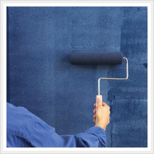 джинсовая текстура стен