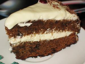 Рецепт торта негр в пене