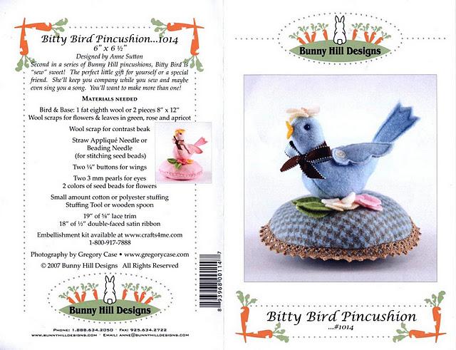 Bunny Hill Desingns 104 - Bitty Bird Pincushion (3) (640x491, 109Kb)