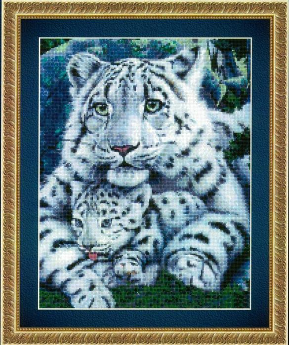 Тигрица с тигренком (белые)