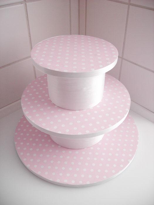 Ярусная подставка для торта своими руками
