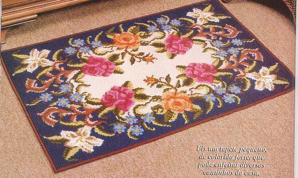 Вышивка крестом в коврове