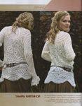 Вязанные кофты для женщин крючком