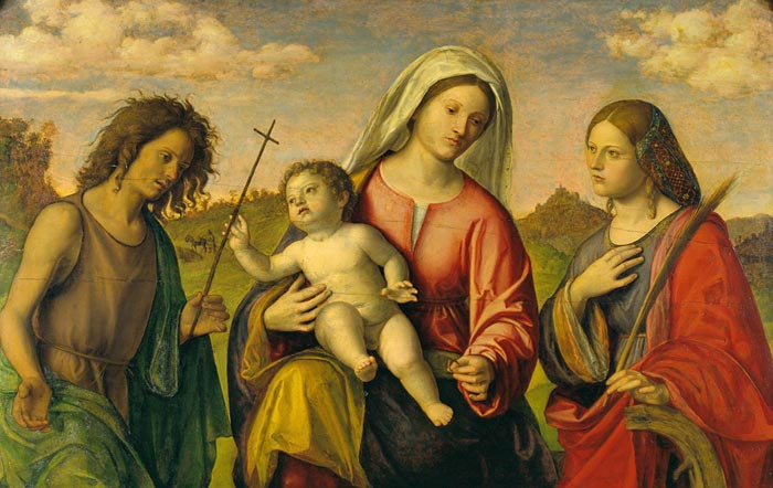 Virgin_and_Child_with_St._Catherine_and_St._John_the_Baptist_-_The_Morgan_Library_NYC (700x442, 66Kb)