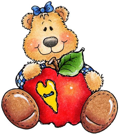 Teddy Bear Apple01 (461x512, 111Kb)
