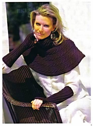Вязание спицами для нарукавники для