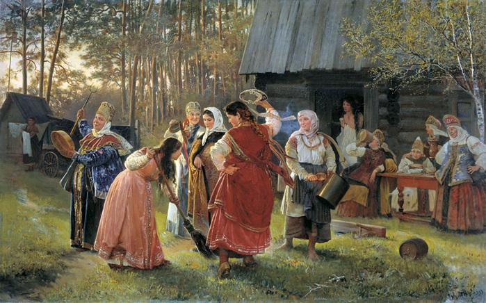 Семейно бытовые обряды и праздники