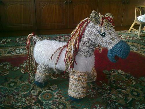 Вяжем лошадку и ослика - Научимся вязать игрушки для детей - описания и схемы возьмем у друзей - Форум-Град