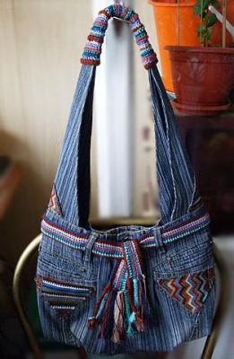 Сумки своими руками из джинс фото и выкройки