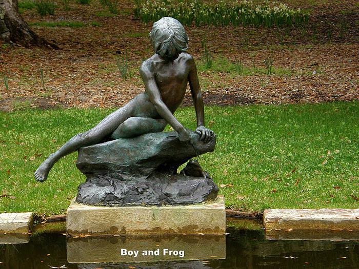 """Сады Брукгрин - Brookgreen: """"Релаксация в красивой обстановке"""" 52984"""