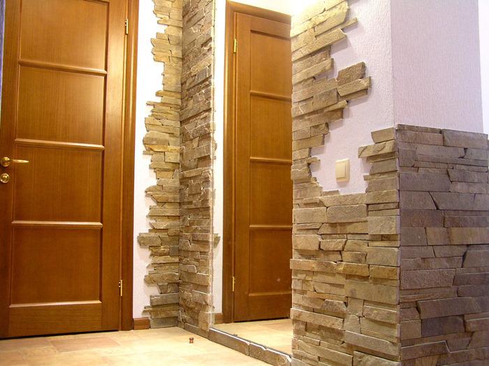 Отделка стен коридора плиткой фото 4