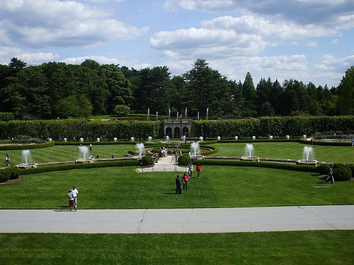 Сады Лонгвуда, Пенсильвания, США. 28977