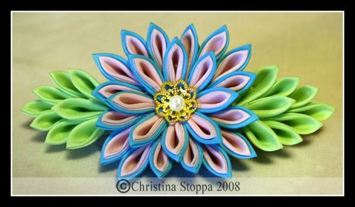 Цветы канзаши своими руками пошаговые фото