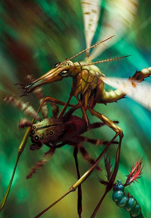 Salsa Invertebraxa - красочные иллюстрации к сказкам от студии Pecksniff Press