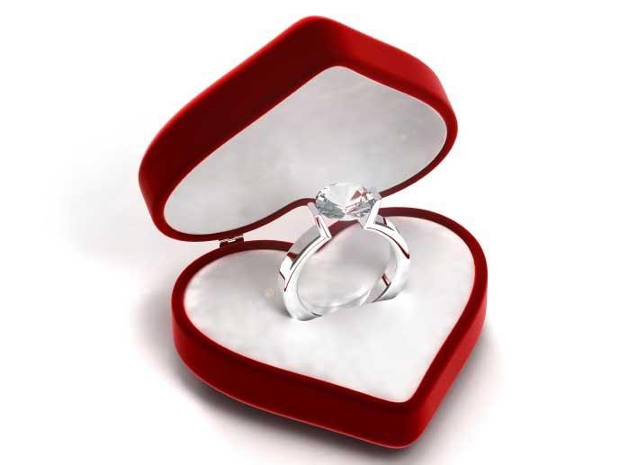 кольца для помолвки  женские