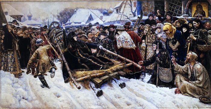 Боярыня Морозова. 1887 (700x360, 157Kb)