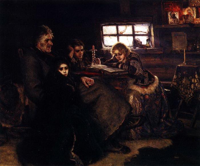 Меншиков в Березове. 1883 (700x581, 207Kb)