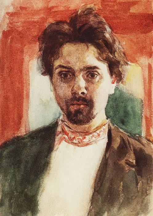 Автопортрет. 1883-1884 (497x700, 148Kb)