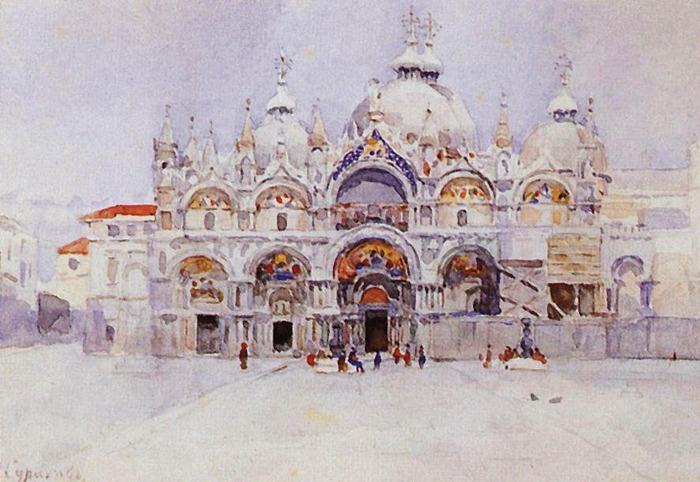 Венеция. Собор Св. Марка. 1884 (700x482, 114Kb)