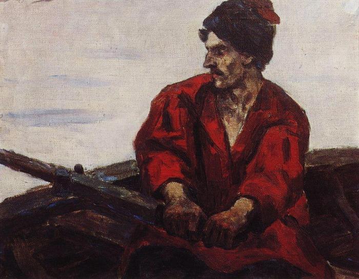 Гребец в лодке. 1912 (700x545, 146Kb)