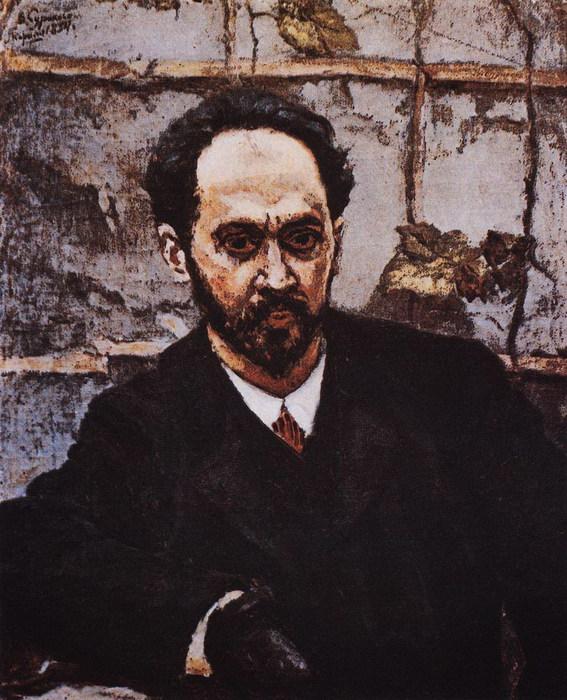Портрет И.Е.Крачковского 1884 (567x700, 127Kb)