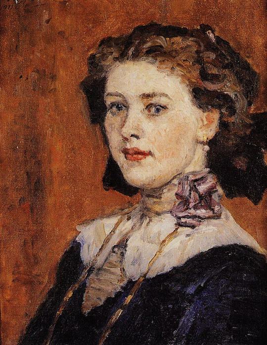 Портрет молодой женщины 1911 (540x700, 176Kb)
