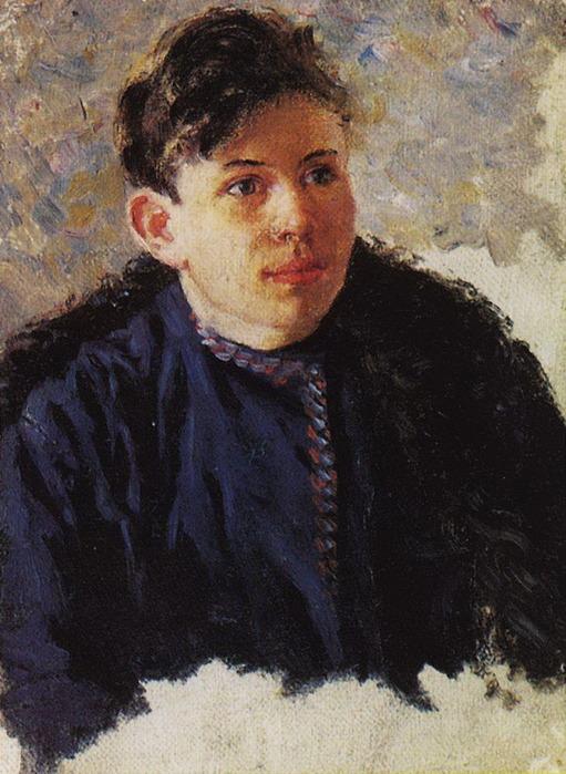 Портрет юноши Леонида Чернышова. 1889-1890 (511x700, 127Kb)