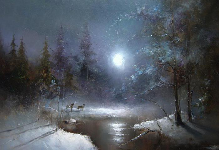 Восход Луны (700x480, 42Kb)