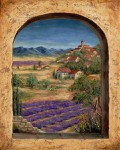 Превью lavender-fields-and-village-of-provence-marilyn-dunlap (480x600, 110Kb)