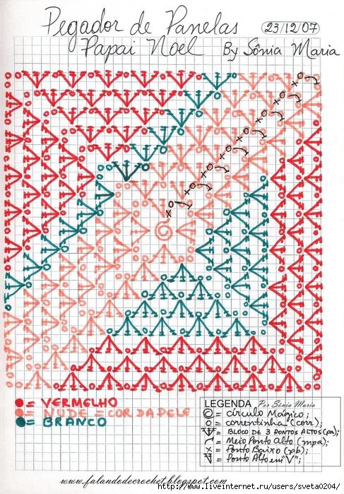 PEGADOR DE PANELAS PAPAI NOEL SONIA MARIA (487x700, 410Kb)