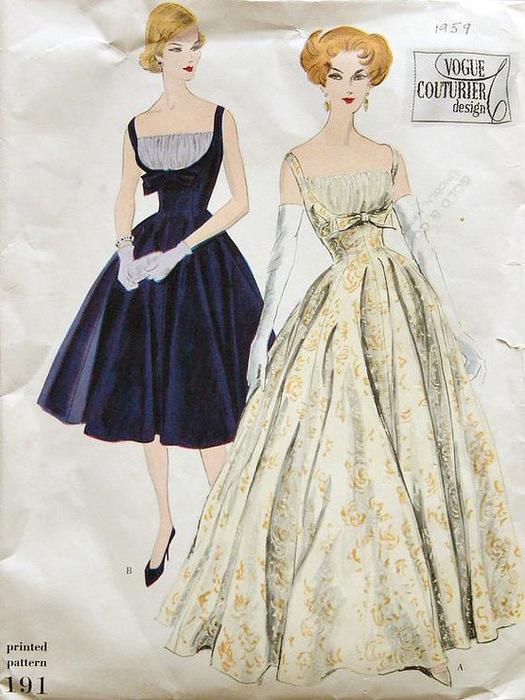 Выкройки летних платьев с чертежами